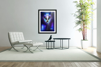 What Dreams Are Made Of Ethereal Clouds Portrait T2  Acrylic Print