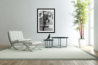 8th Street Rooster  Acrylic Print