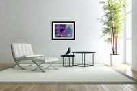Modern art living room digital art artist Ron Malestein - 450  Acrylic Print