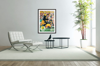 Green Bay Packers Football Poster Row One Brand Sports Art  Acrylic Print