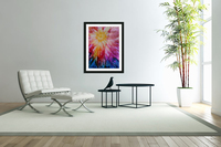 Rainbow Bloom  Acrylic Print