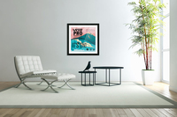 2019 VANS PRO Print - Surfing Poster  Acrylic Print
