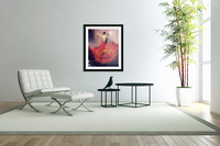 Dancer in Red   Acrylic Print