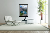 Dreaming in Blues  Acrylic Print