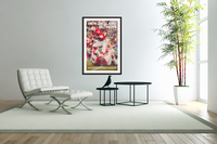 1979 new england patriots vintage nfl poster  Acrylic Print