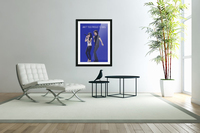 Aint Too Proud to beg   Amy Winehouse & Mick Jagger  Acrylic Print