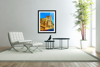 Dreams of Cannes France in Retro Behemian Style  Acrylic Print