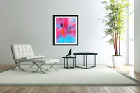 Red and blue  Acrylic Print