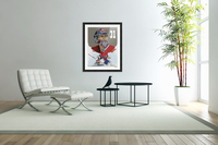Carey Price portrait  Acrylic Print