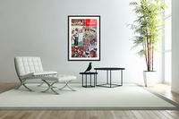 1974 Alabama Football Print  Acrylic Print