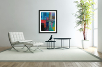 Abstract Composition 1141  Acrylic Print