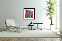 Provokes One to Think of Poinsettias Maybe  Acrylic Print