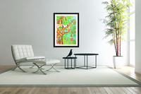 The tree of the prophetic wood and the friends of the wood  Acrylic Print