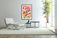1987 Arizona State Football Poster  Acrylic Print