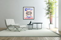 1960 Los Angeles Dodgers Baseball Art  Acrylic Print