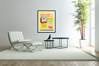 Vintage Philco Television Advertisement  Acrylic Print