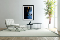 Gentle Blue Touch  Acrylic Print