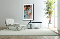 The Greens dancers by Degas  Acrylic Print