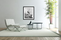 Crow Indian on the Lookout  Acrylic Print