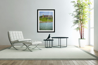 Quiet Space in the City  Acrylic Print