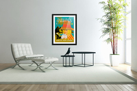 Vintage Jamaica Delta Airlines Poster  Acrylic Print