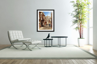Mosques, Egypt and Damascus  Acrylic Print