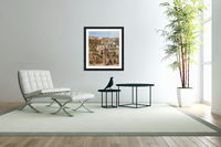 View of the interior of the Colosseum  Acrylic Print