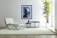 A Horse Smiling And Showing It's Teeth; Northumberland, England  Acrylic Print