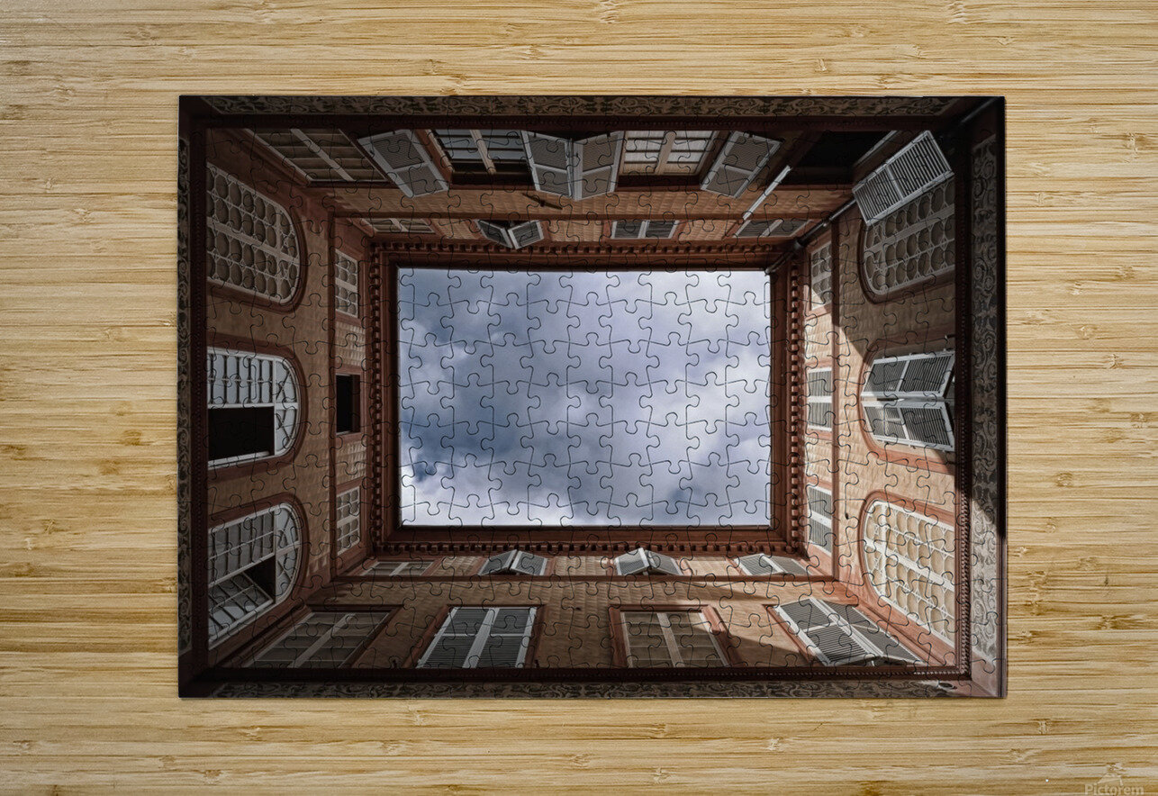 The Sky.......  HD Metal print with Floating Frame on Back