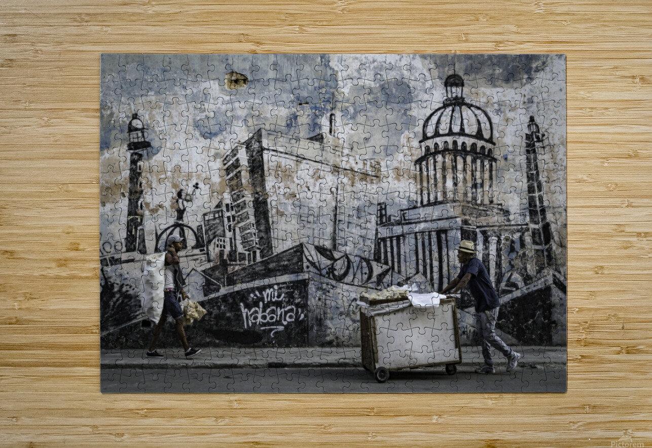 Mi Habana  HD Metal print with Floating Frame on Back