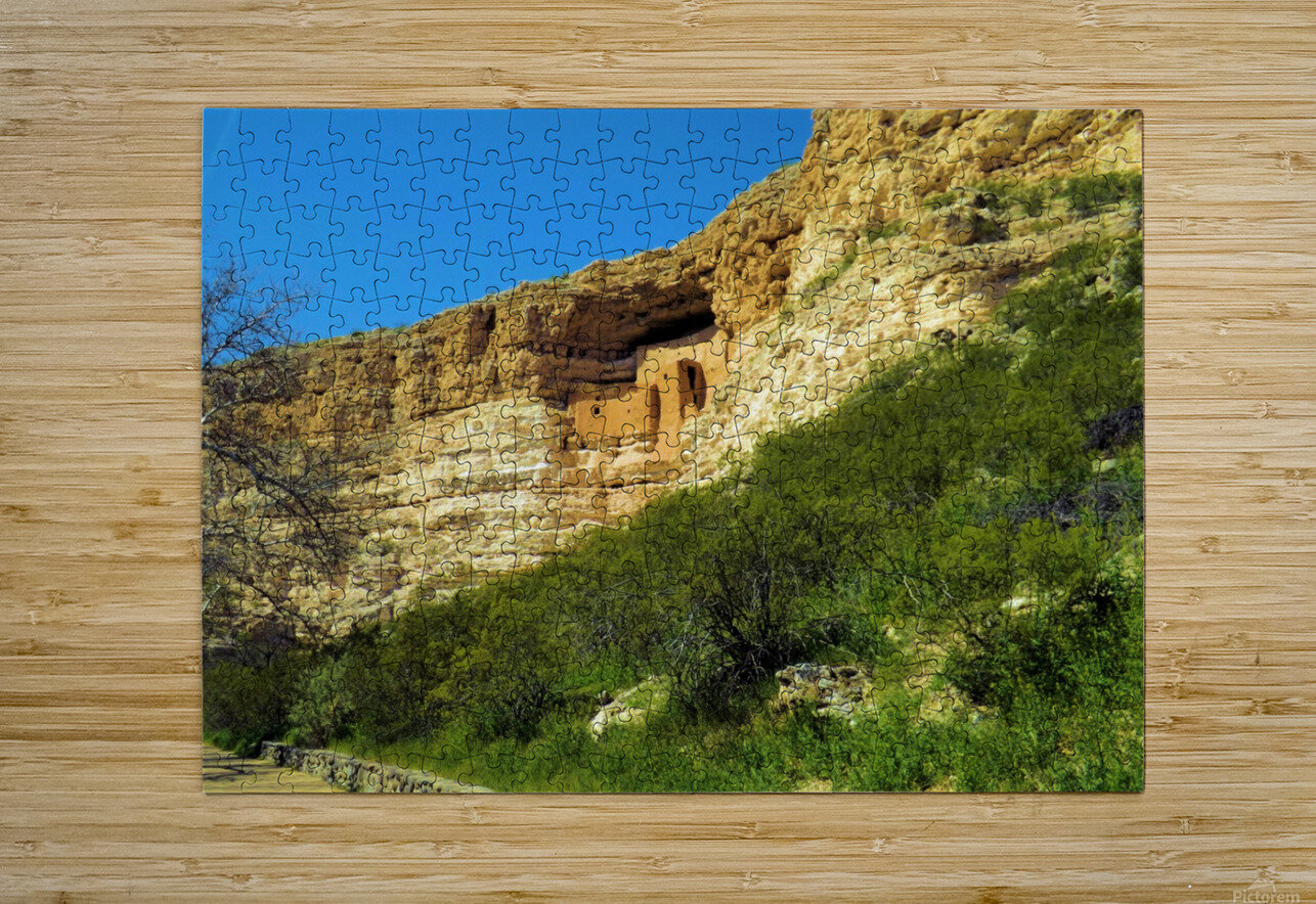 Montezuma's Castle   HD Metal print with Floating Frame on Back