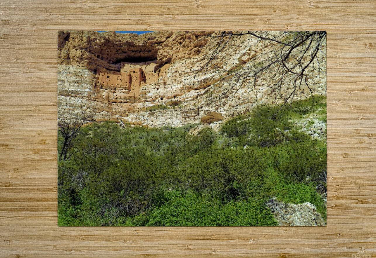 Montezuma's Castle-14  HD Metal print with Floating Frame on Back