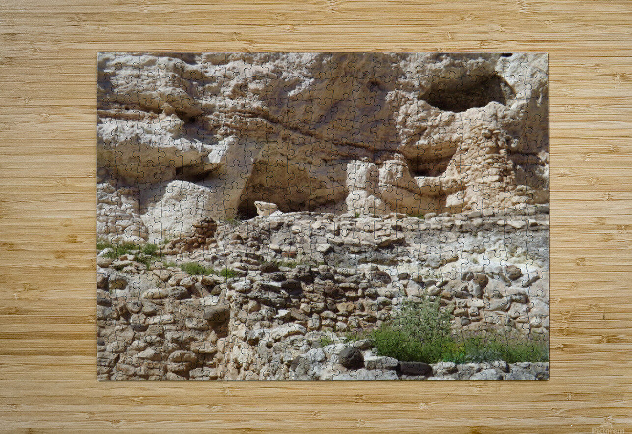 Montezuma's Castle-8  HD Metal print with Floating Frame on Back