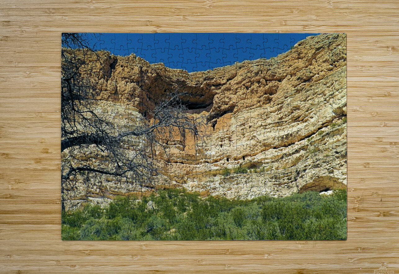 Montezuma's Castle-6  HD Metal print with Floating Frame on Back