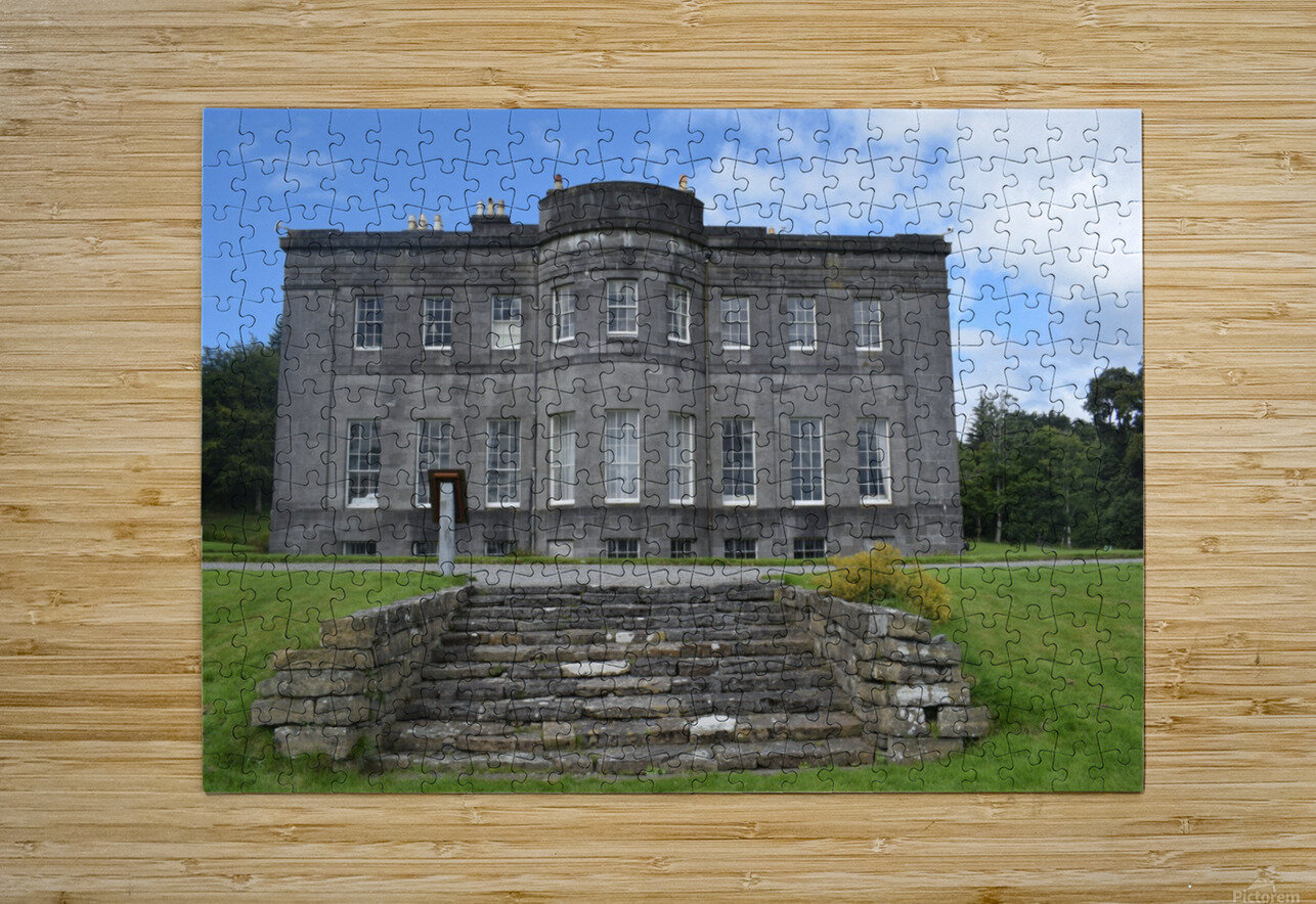 LISSADELL HOUSE & GARDENS  HD Metal print with Floating Frame on Back