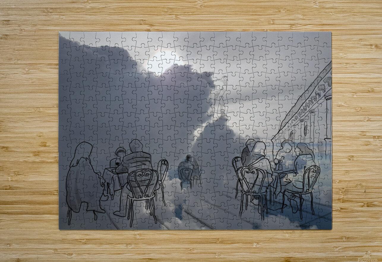Basilica  HD Metal print with Floating Frame on Back