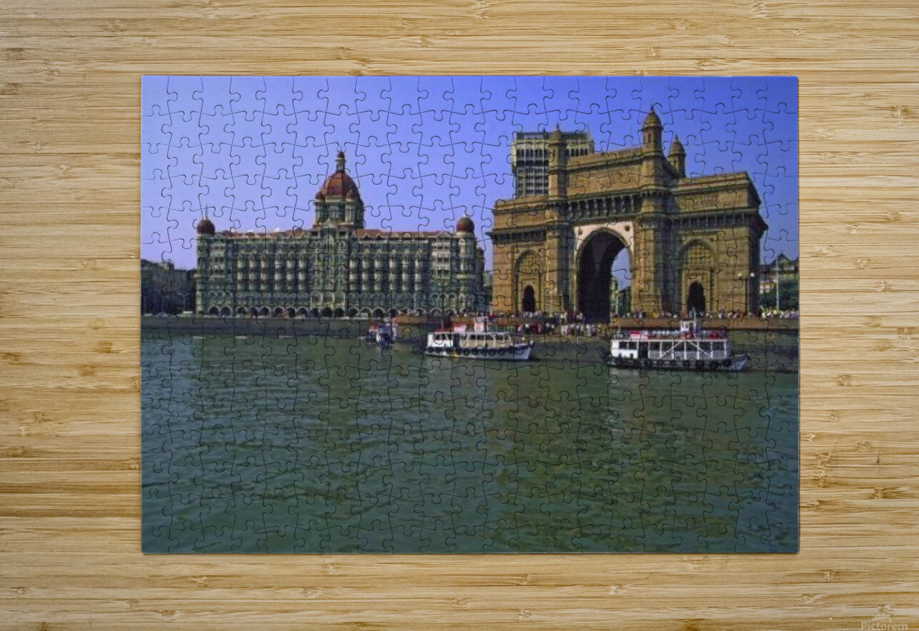 West India Tour  HD Metal print with Floating Frame on Back