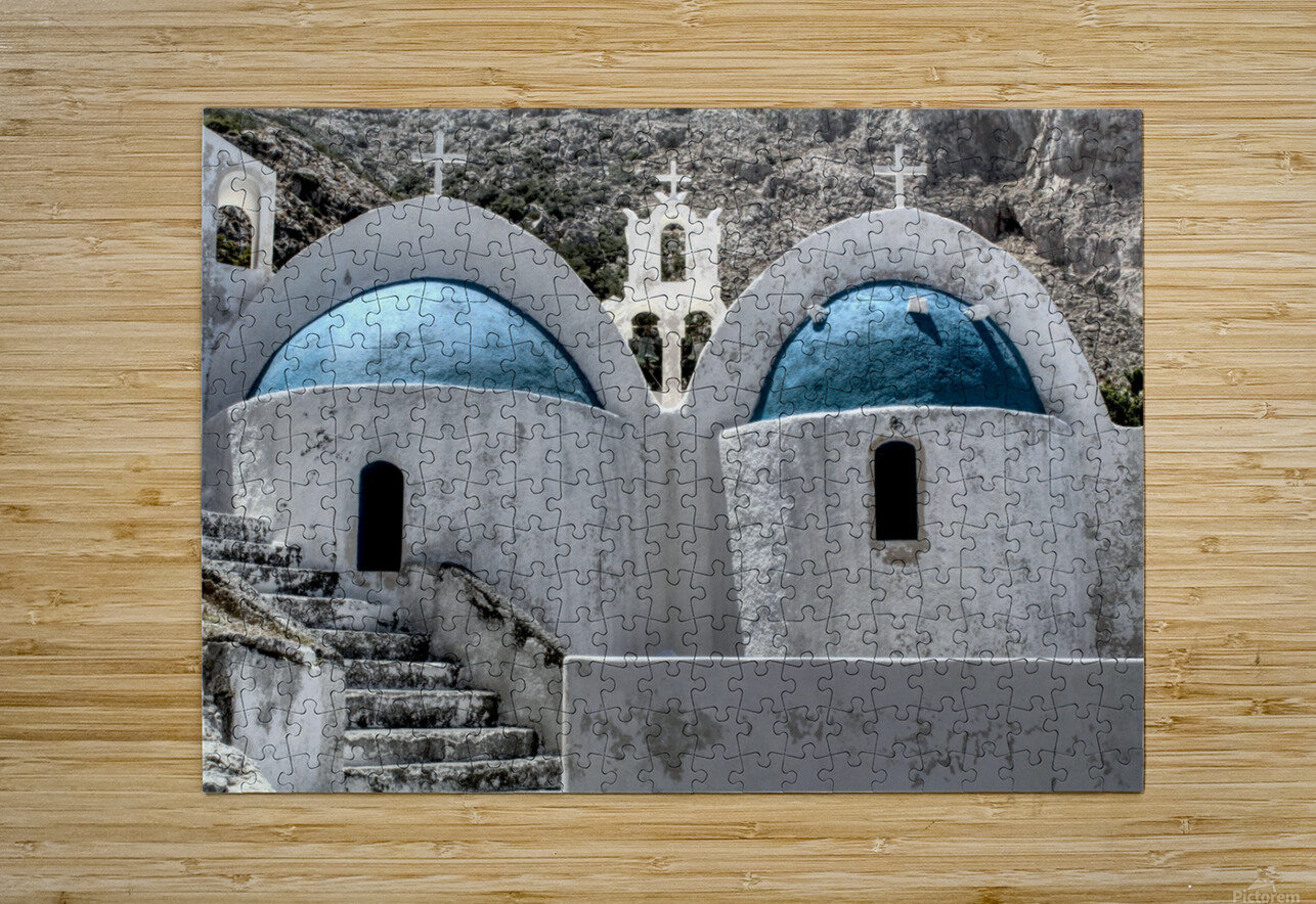 Landscape - Church  HD Metal print with Floating Frame on Back