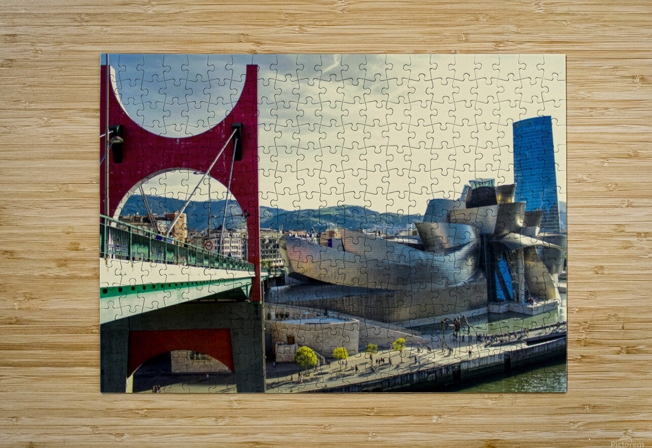 Bilbao Museum - Basque Country  HD Metal print with Floating Frame on Back
