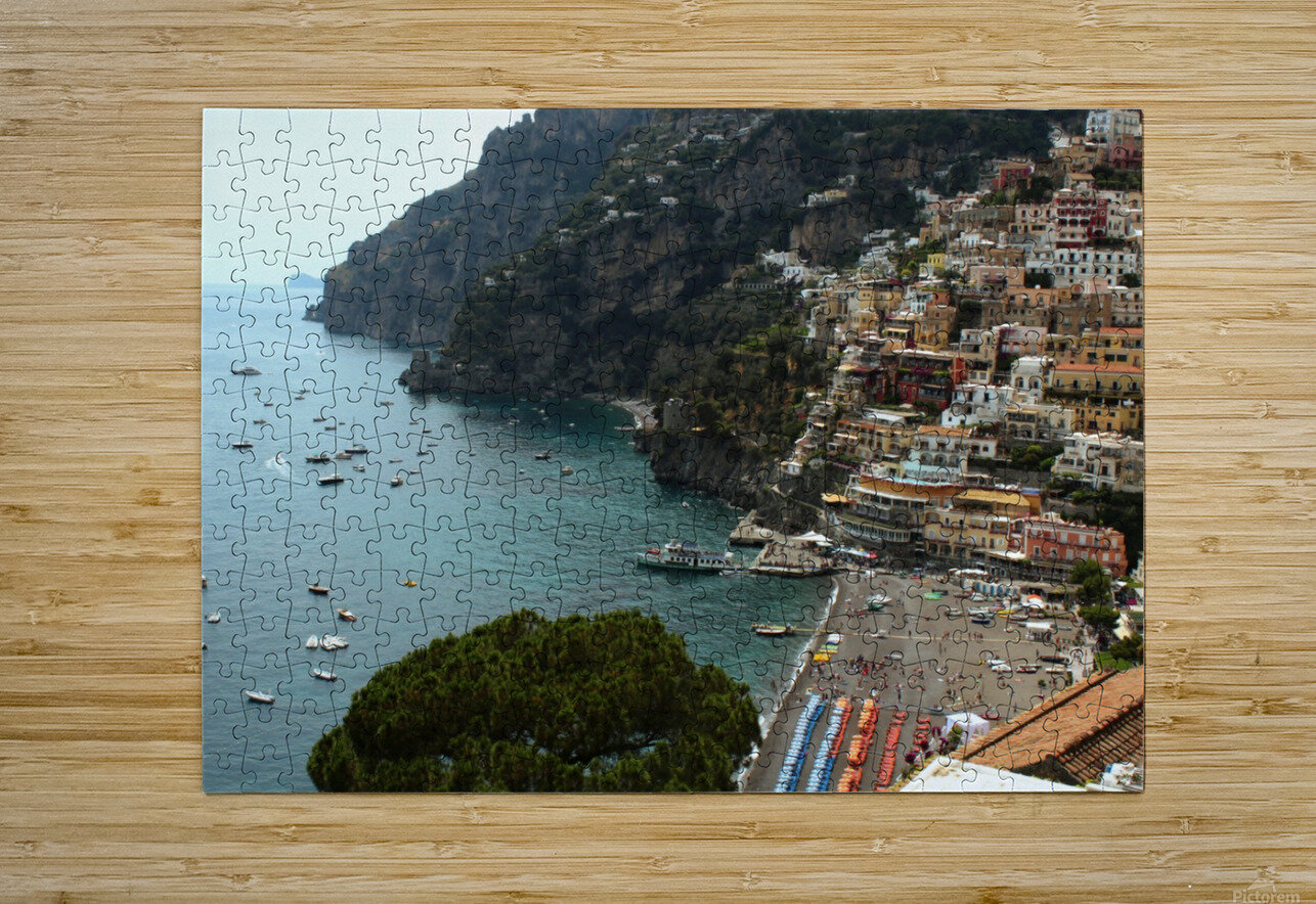 Landscape - Italy  HD Metal print with Floating Frame on Back