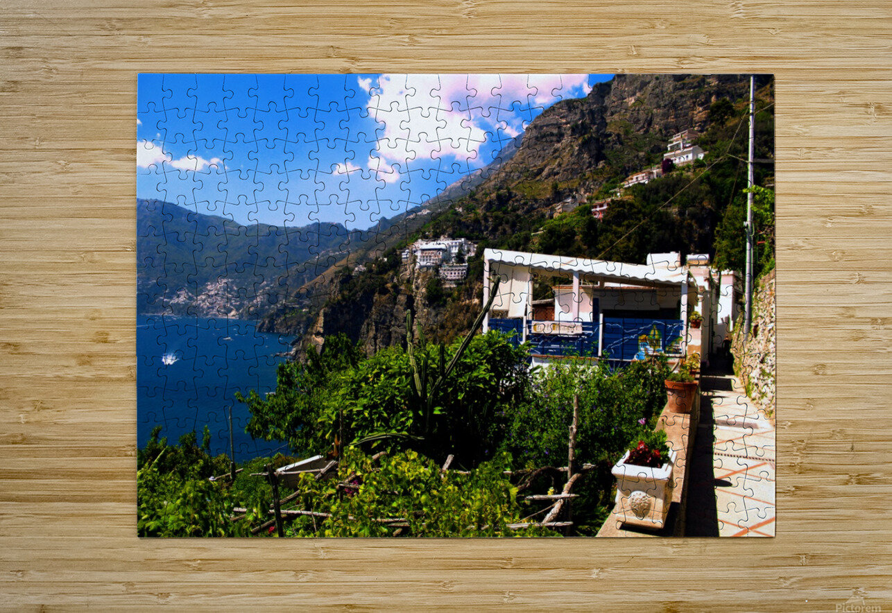 Amalfi Coast Landscape - Italy  HD Metal print with Floating Frame on Back