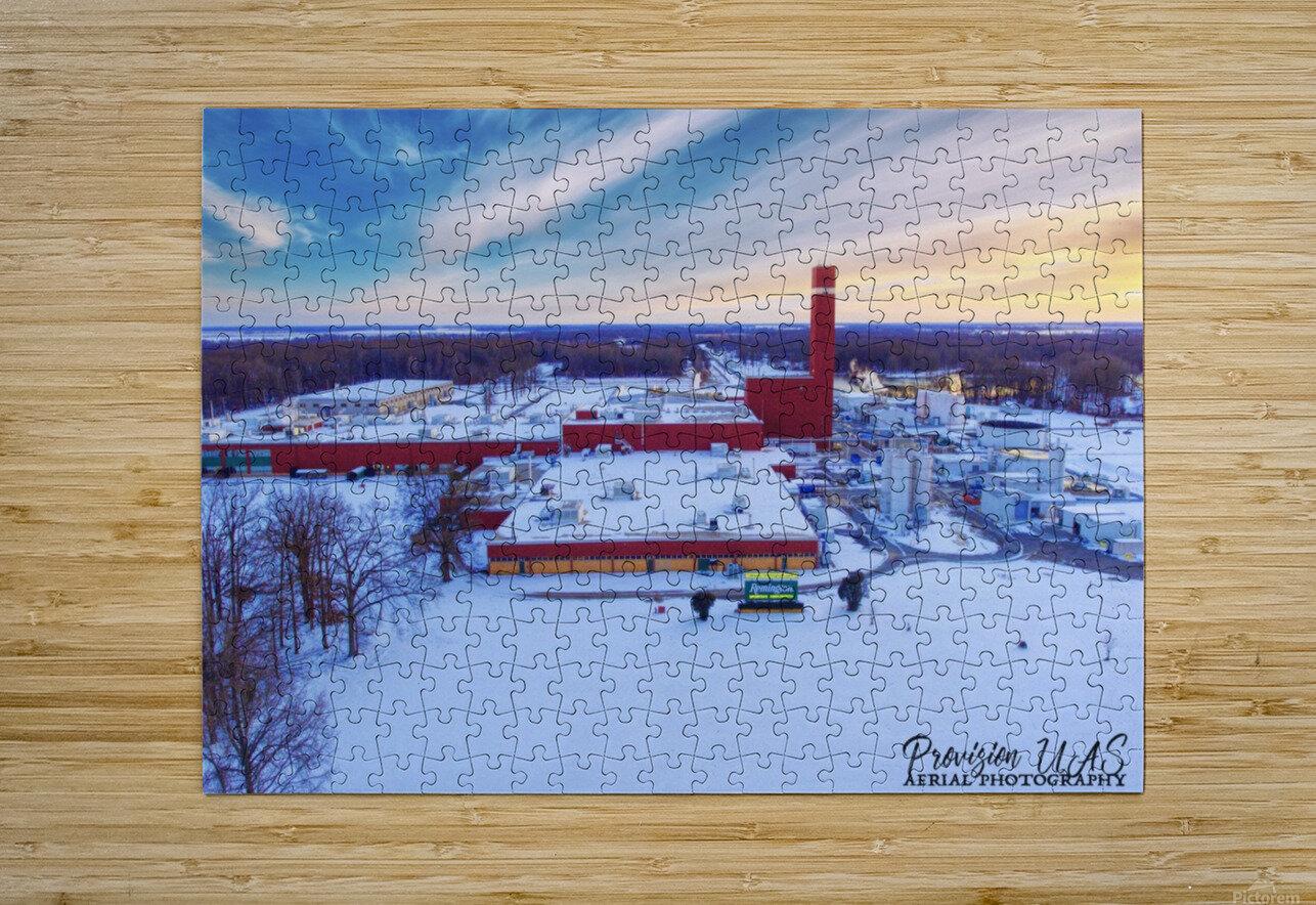 Lonoke, AR | Remington Winter  HD Metal print with Floating Frame on Back