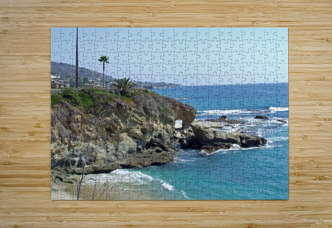 montage arch 2  HD Metal print with Floating Frame on Back