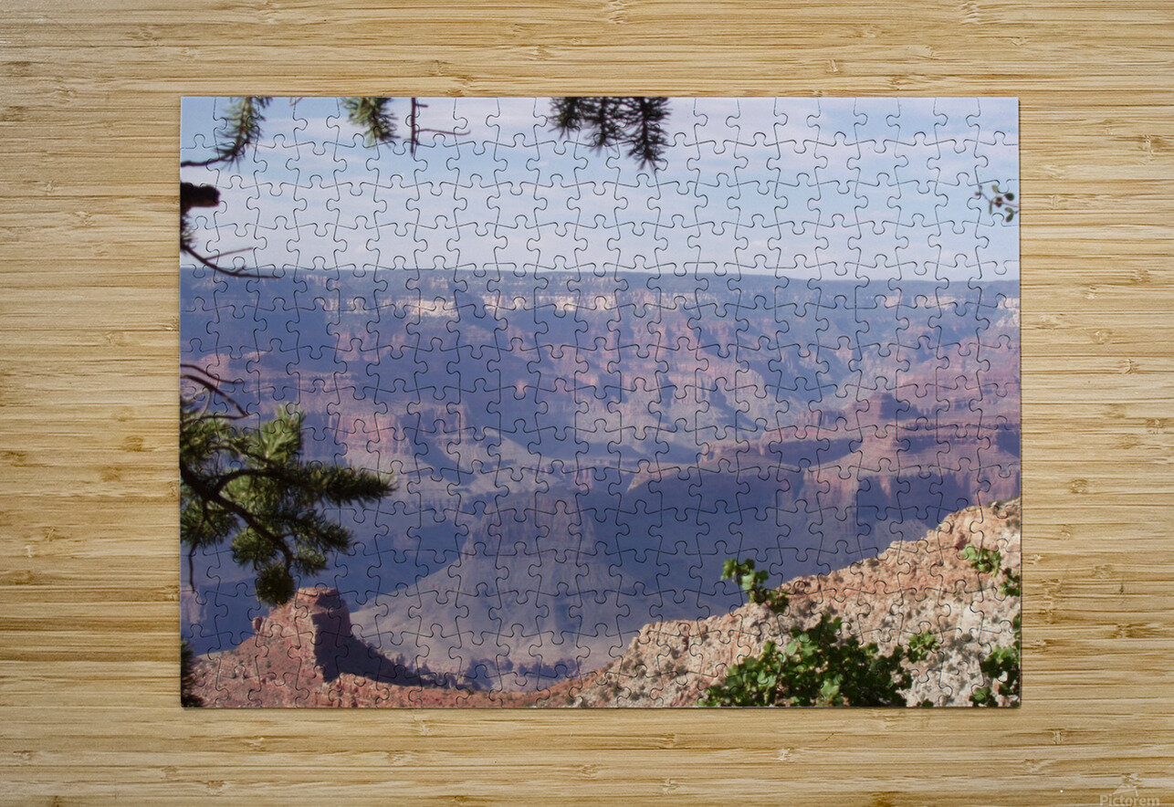 Grand Canyon Photo  HD Metal print with Floating Frame on Back