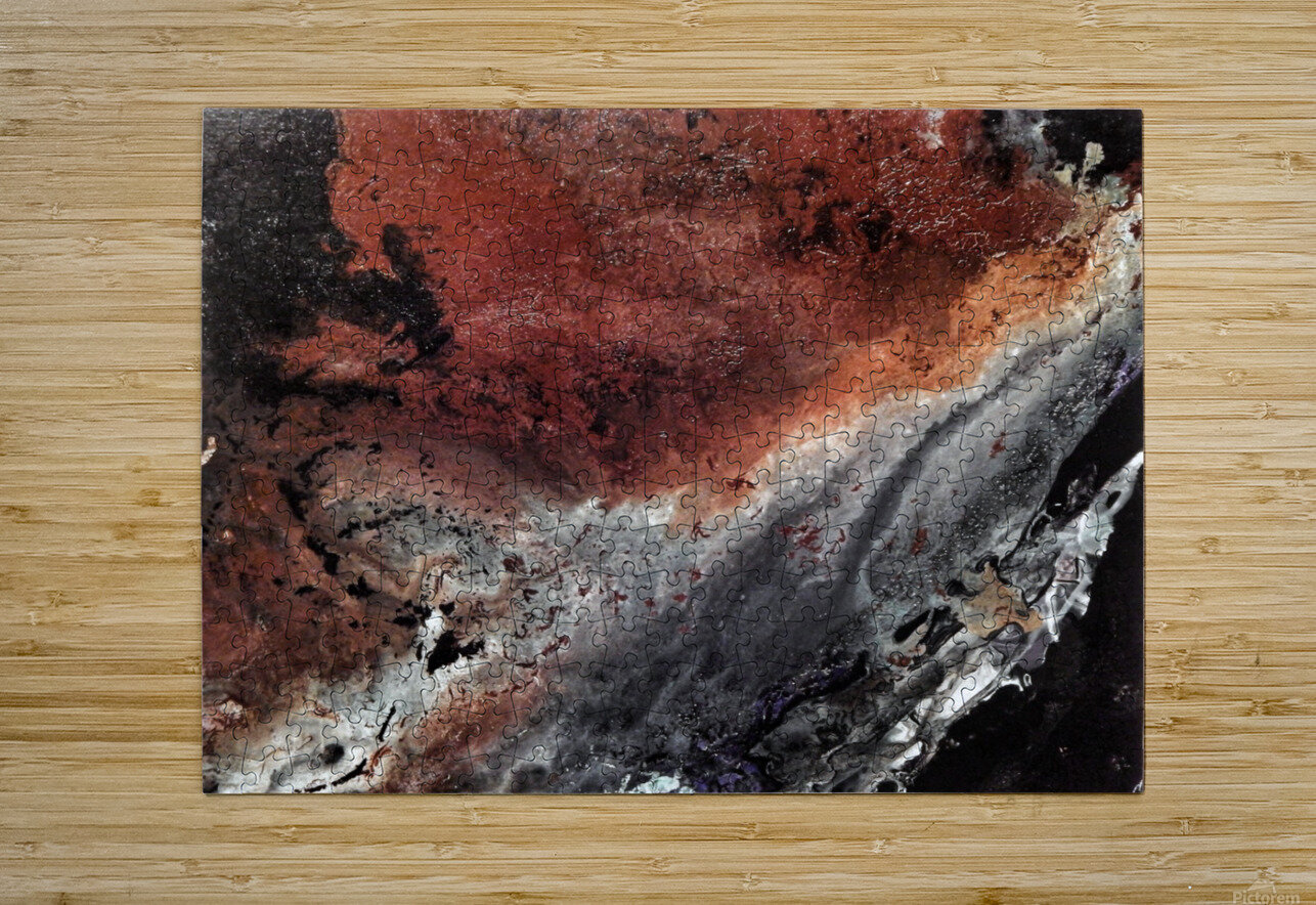 Cataclysm  HD Metal print with Floating Frame on Back