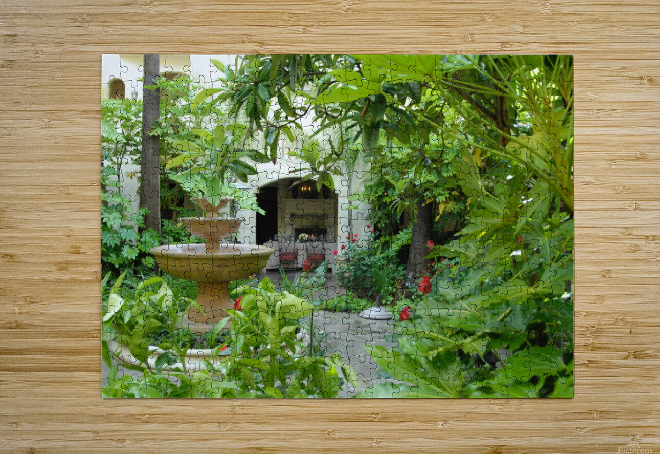 Kenwood Inn  HD Metal print with Floating Frame on Back