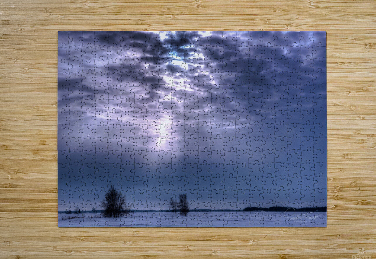 MirabelHDR  HD Metal print with Floating Frame on Back