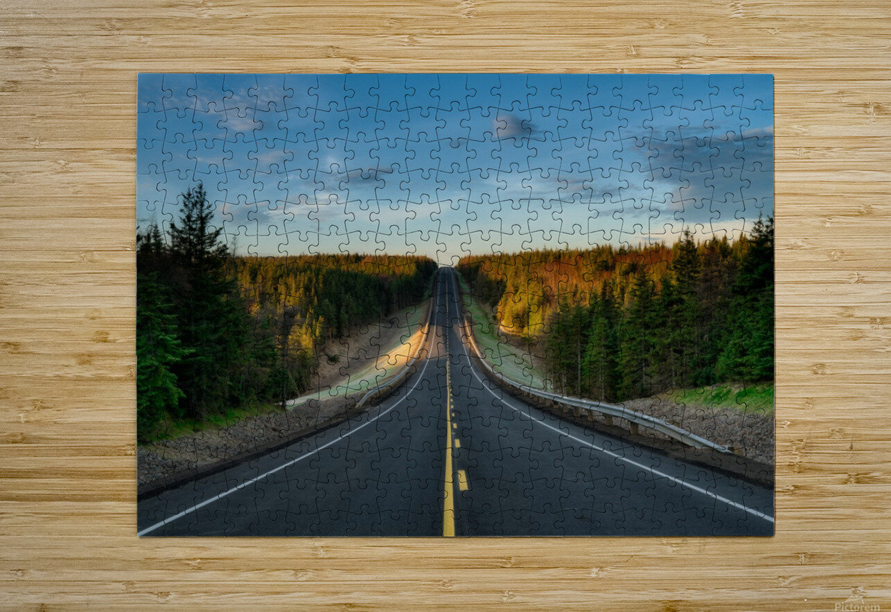 Passing Through  HD Metal print with Floating Frame on Back