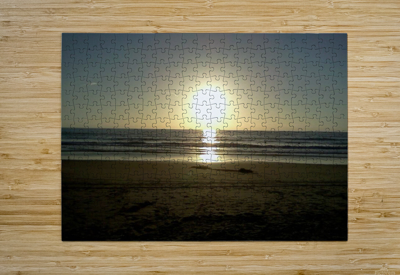 Oceanside, California  HD Metal print with Floating Frame on Back