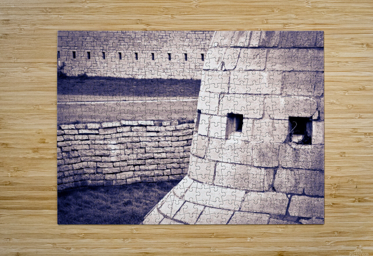 Fort Frederick At Rmc  HD Metal print with Floating Frame on Back